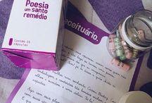 Poesia um Santo Remédio / pílulas poéticas que curam todas as questões.