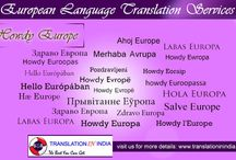 European Languages Translation Services / Translation Companies in India. We provide all the services like translation services, legal translation services, document translation services, technical translation services,translation and transcription services,foreign language translation services,translation services in India