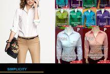 Jual Baju Kerja Wanita Murah / Mau tau yang Jual Baju Kerja Wanita Murah modis dan elegan?  Kami punya banyak koleksi kemeja maupun blouse dari bermacam bahan yang nyaman dipakai.  Hubungi kami: PinBB : 7d20d94c