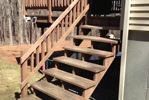 Deck Remodel in Westborough, MA / This old deck was just about ready to fall off the house.  RemodelWerks came to the rescue and gave this Westborough, MA home a brand new deck area!