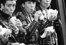 Big Bang / GDragon, TOP, Daesung, Taeyang, Seungri. Bias: Seungri&GD