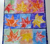disegni con le foglie