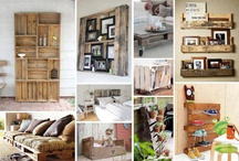 DIY WITH PALLETS / Reuse pallets