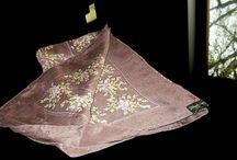 Jehan de Fabriques silk scarf
