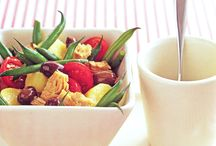 Summer fashion, food & Salads