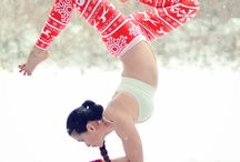 Yoga / I LOVE yoga. I'm a yogaholic. And these are poses that I like doing, or want to be able to do eventually. And yoga leggings that I want/need. / by Michelle Wong