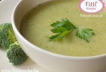 Leves receptek, krémlevesek / Finom, diétás levesek és krémlevesek