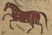 At figürü