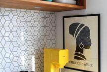 Kitchen - splachback/wall finishes