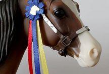 Schleich paarden diy