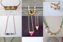 Šperky: náhrdelníky / Náhrdelníky a přívěsky, které si můžete sami vyrobit