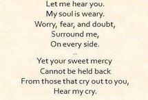 Prayer and affirmation