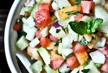 Salat / Opskrifer