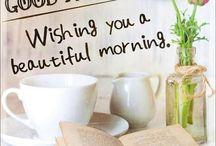 Morning & bday greetings