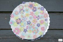 Flower-theme birthday cake / Μια λουλουδάτη τούρτα!