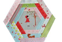 Hexagon ideas and English Paper Piecing