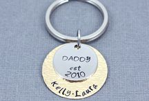 Mixed Metal Hand Stamped Jewelry