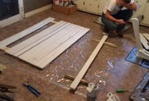 Making the Porch Swing