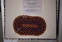 beginning rug braiding / learn beginning rug braiding, hand braided wool rug, recycle wool clothing