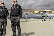Solar Impulse et Omega / Voyage autour du monde à bord d'un avion solaire