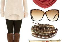 Fashion - Fall / Outfits Fashion to the season Cute ideas Examples  / by Casey Norris