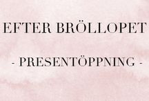 EFTER BRÖLLOPET - Presentöppning