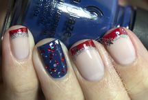 4th July nail art / 4th July nail art, uñas para el 4 de julio, independence day, dia de la independencia, USA, EEUU, United State, holiday