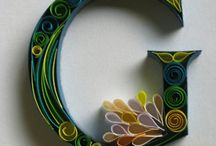 Paperolles/Quilling