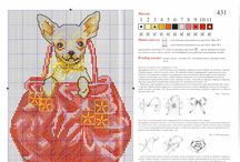 Cross stitch - small dogs
