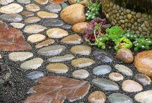 piso de piedra
