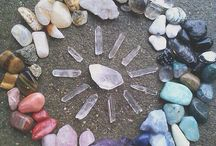 Crystals and spells