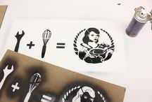 Stencils & Lasercutting