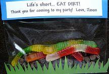 Clayton's 3rd Birthday ideas! / by Lindy Bear