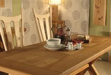 Handmade Furniture and Art for Your Home / Dining Tables, coffeee tables, occasional tables, lights.  Transform your home.