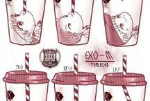 EXO chibix :3<3 BTS<3