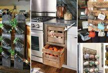Pallet kitchen ideas