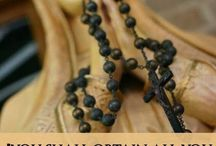 Rosary and Blessed Mary