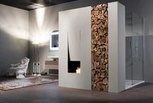 Fireplace / by Abby Stopper
