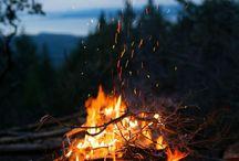 Lagerfeuer Natur