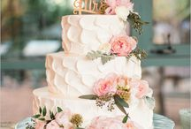 Just married (wedding cake)