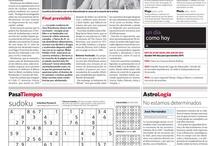 Páginas memorables  / by Archivo El Nacional