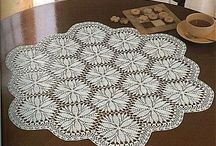 TABLECLOTHS*CROCHET-LACE-dantel