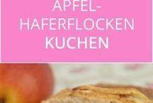 Apfelhaferflocken kuchen
