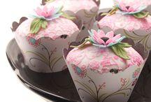 Troukoek en cupcakes
