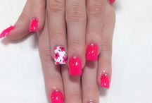 lovely nail ideas for spring! / I've chosen these particular nail ideas because i think that they are very detailed for this season