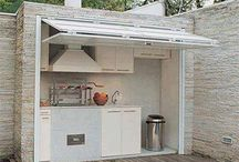 Outside braai area ideas / For our new house :D