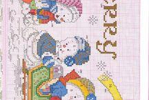 Hímzések - Embroideries / Cross Stitch World - Needlework