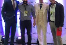 Henry Cavill at The Man from U.N.C.L.E. Premiere in Brazil 2015 / Henry Cavill and Armie Hammer attended Brazil Premiere of The Man from U.N.C.L.E. held at the Odeon cinemas located at the Luiz Severiano Ribeiro Cultural Center in Rio de Janeiro on August 24, 2015.
