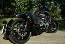 Yamaha V-Max 1200 Custom Handmade. / The motorcycle did himself and for himself. On creation it took 22 months. All done in the garage. Thank you very much friends for their support.