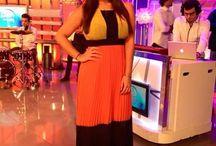 Ada Gatti en la Television / Famosas que lucen nuestras prendas